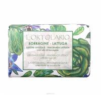 Мыло Iteritalia натуральное Овощная коллекция, аромат Бурачник, Латук 150 г упак.