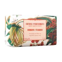 Мыло Iteritalia натуральное растительное Ароматный чай Осматус Белый чай 150г упак.