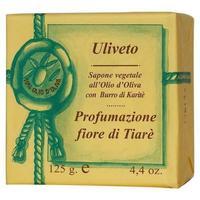 Мыло Iteritlia натуральное растительное с оливковым маслом аромат Цветок Тиарэ 125 г упак.