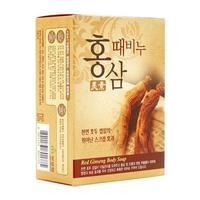 Мыло Mukunghwa Целебное отшелушивающее для тела c женьшенем Red Ginseng Body Soap 100гр