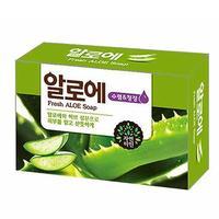 Мыло Mukunghwa Освежающее косметическое с экстрактом Алоэ вера Fresh Aloe Soap 100гр