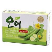 Мыло Mukunghwa Увлажняющее косметическое с экстрактом огурца Moisture Cucumber Soap 100гр