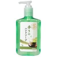 Мыло Nagara для рук аромат Зеленого чая 240 мл