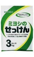 Мыло порошковое Мийоши (Miyoshi) для стирки на основе натуральных компонентов 3 кг упак.