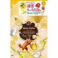 Мыло жидкое Ahalo Butter для тела с тропическими маслами, с медом и молоком 420мл