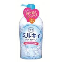 Мыло жидкое Cow для тела молочное Milky Body Soap тонкий цветочный аром. 580 мл 1 шт.