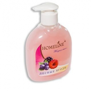 Мыло жидкое ХоумЛайн (HomeLine) концентрированное с ароматом Лесные Ягоды 300мл