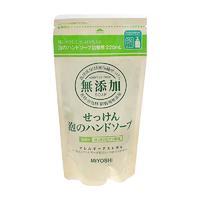 Мыло жидкое Мийоши (Miyoshi) для рук пенящееся на основе натур. компон. запасной блок 220 мл упак.