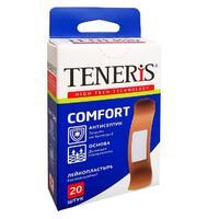 Набор лейкопластырей Teneris Comfort бактерицидных телесных 20 шт.