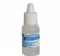 Нафтизин капли в нос 0.1% 15 мл