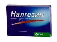 Налгезин таблетки 275 мг, 10 шт.