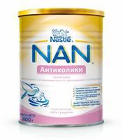 НАН Антиколики спец. молочная смесь 0-6 мес. 400 упак.