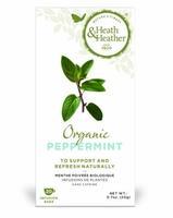 Напиток Хиз энд Хизер (Heath & Heather) Мята перечная органик травяной фильтпакетики 20 шт. упак.
