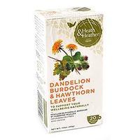 Напиток Хиз энд Хизер (Heath & Heather) Одуванчик,лопух,лист боярышника трав. фильтпакетики 20 шт. упак.