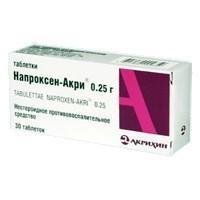Напроксен-акри таблетки 250 мг, 30 шт.