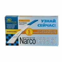 Наркочек тест-полоска на выявление марихуаны в моче 1 шт.