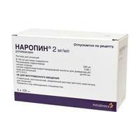 Наропин р-р для инъекций 2 мг/мл контейнеры полипр