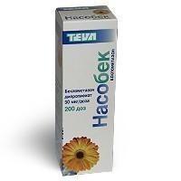 Насобек спрей назальный 50 мкг/доза, 200 доз