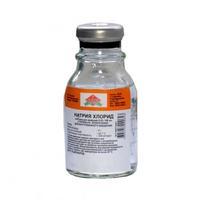 Натрия хлорид р-р для инфузий 0,9% флаконы 100 мл