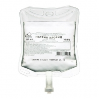 Натрия хлорид р-р для инфузий 0,9% пакет 250 мл