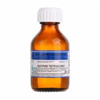 Натрия тетрабората раствор в глицерине 20% флаконы 30 мл