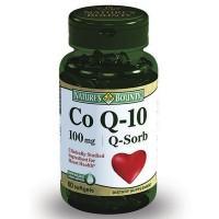 Нэйчес баунти коэнзим q-10 капс. 100 мг №60 (бад)
