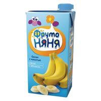 Нектар ФрутоНяНя из бананов с мякотью 6 мес. 200мл тетрапак упак.