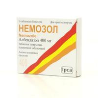 Немозол  таблетки 400 мг, 1 шт.
