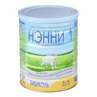 Нэнни 1 смесь на основе натурального козьего молока с пребиотиками 0-6 мес. 800 г