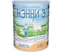 Нэнни 3 смесь на основе натурального козьего молока с 12 мес. 800 г