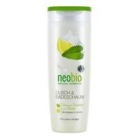 Neobio пена для душа и ванны с био-мелиссой и лимоном 250 мл