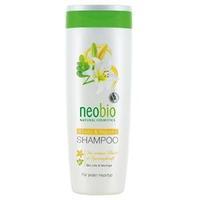 Neobio шампунь для восстановления и блеска волос с био-лилией и морингой 250 мл