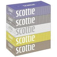 Nepia салфетки Crecia Scottie двухслойные 5 х 200 шт.
