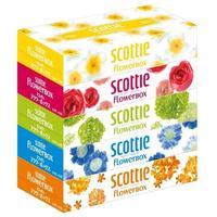 Nepia салфетки Crecia Scottie Flowerbox двухслойные 5 х 160 шт.