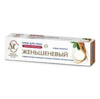 Невская косметика Крем для лица омолаживающий Женьшеневый 40мл