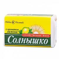 Невская косметика Мыло хозяйственное Солнышко лимон 140г