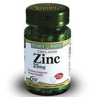 Нэйчес Баунти Хелат цинка таблетки 25 мг, 100 шт.
