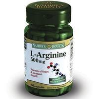 Нэйчес Баунти L- Аргинин капсулы 500 мг 50 шт.