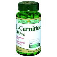Нэйчес Баунти L-Карнитин 500 мг таблетки 30 шт.
