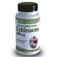 Нэйчес Баунти Натуральная эхинацея капсулы 400 мг, 100 шт.