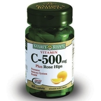 Нэйчес баунти витамин с и шиповник таблетки, 100 шт.