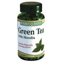 Нэйчес Баунти Зеленый чай с худией капсулы, 50 шт.