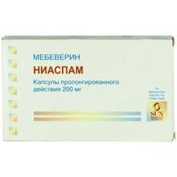 Ниаспам капсулы ретард 200 мг, 30 шт.