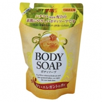 Nihon Detergent крем-мыло для тела Wins Body Soup honey с мёдом 400 мл