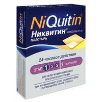 Никвитин трансдермальная терапевтическая система 21 мг/сут,