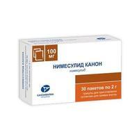 Нимесулид Канон гранулы для пригот. сусп. для приема внутрь 100 мг 2 шт.
