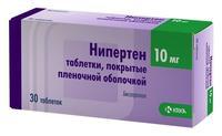 Нипертен таблетки 10 мг, 30 шт.