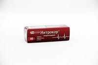 Нитрокор таблетки 0.5 мг, 40 шт.