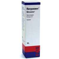Нитроминт спрей подъязычный 0,4 мг/доза 180 доз 10 г