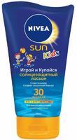 Nivea Солнцезащ. лосьон детский Играй и купайся SPF30, 150мл